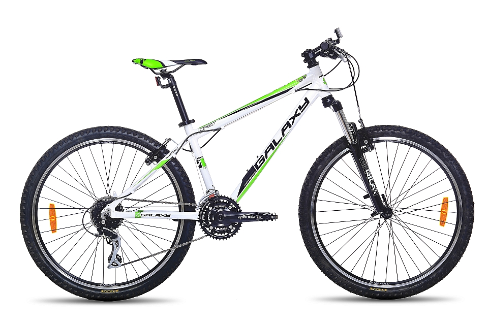 "MTB GALAXY ORBIT 26"" bílý 2018"
